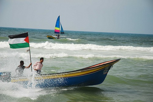 voile, voilier, Gaza, Qatar, sport, Palestine, plage, comptition